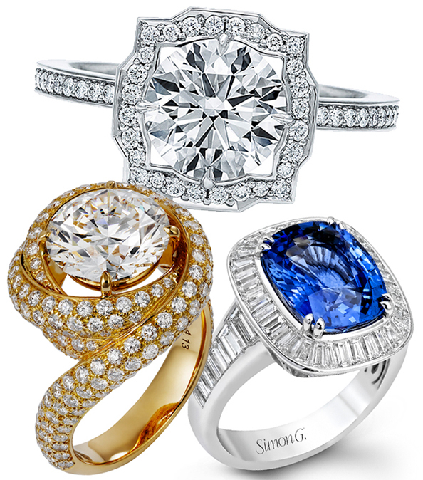 #RocksMyWorld: 40 Fabulous Engagement Rings