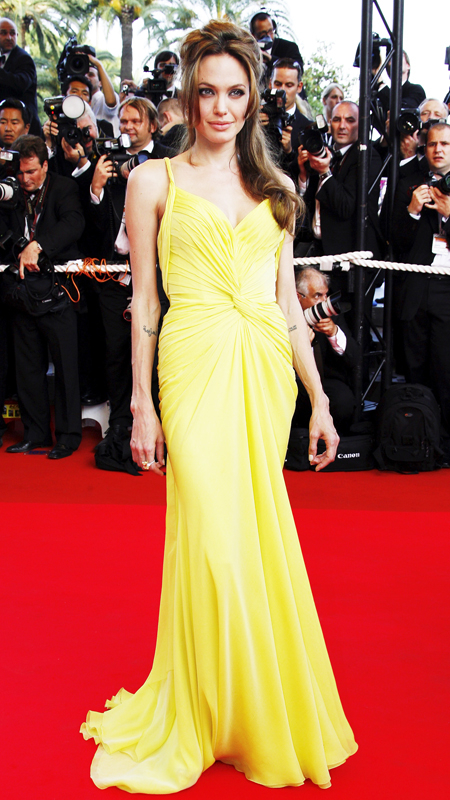 Angelina Jolie attends 2007 Cannes Film Festival