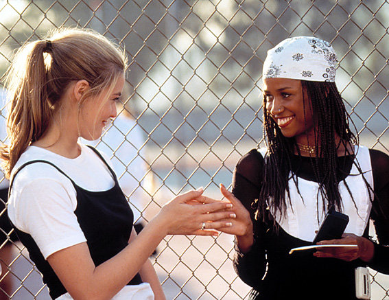 Clueless - Cher's Black-and-White Workout Gear