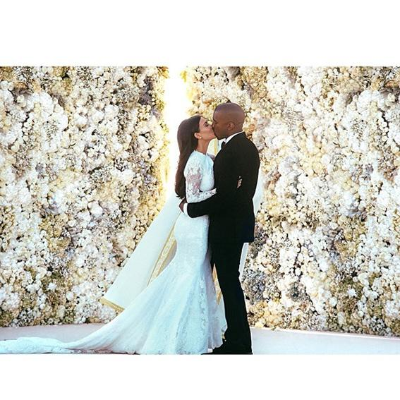 kimye wedding instagram