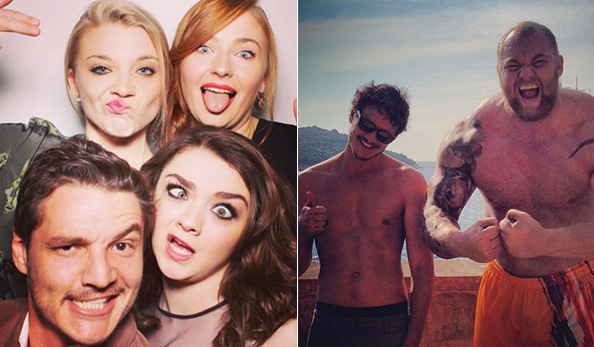 Game of Thrones Stars on Instagram: They're Just Like Us!