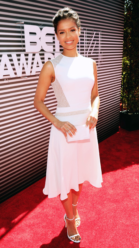 BET Awards arrivals Gugu Mbatha-Raw