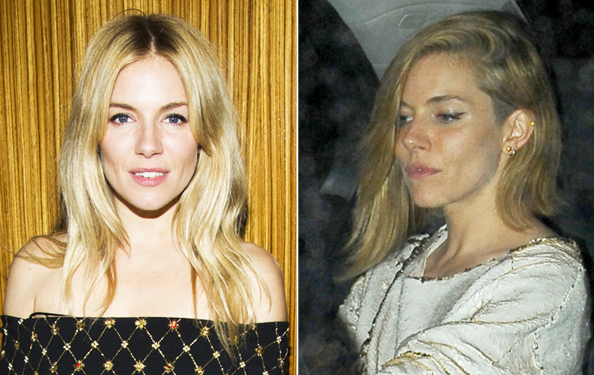 Sienna Miller Puts Her Own Spin On the Summer's Hottest Haircut