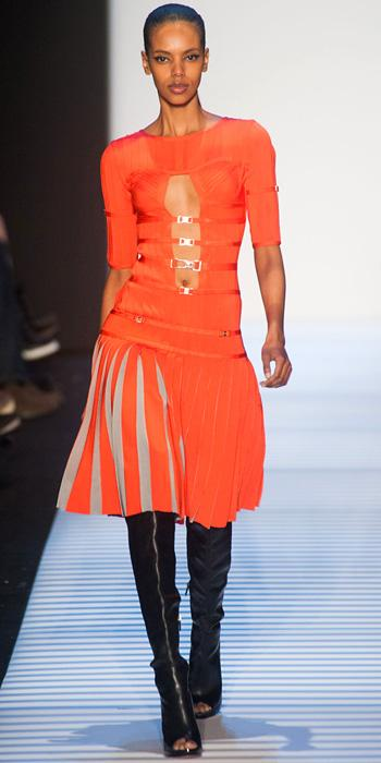Herve Leger by Max Azria FW 2014 NYFW