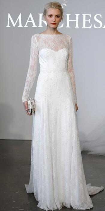d9c585c9 The Marchesa Spring 2015 Bridal Collection | InStyle.com