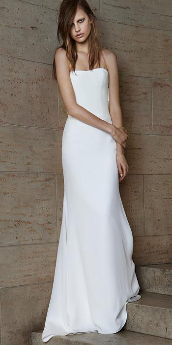 5bf4891ae98e7 Vera Wang Spring 2015 Bridal Collection | InStyle.com