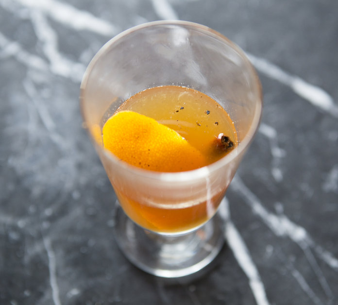 <p><strong>Flaming Hot Toddy</strong></p>