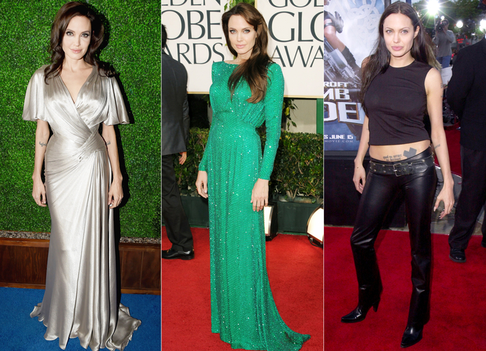 Celebrate Angelina Jolie's 40th Birthday with40 of Her Best Red Carpet Looks