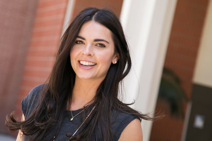 Chef Katie Lee attends the 2015 Los Angeles Times Festival of Books at USC on April 19, 2015 in Los Angeles, California.
