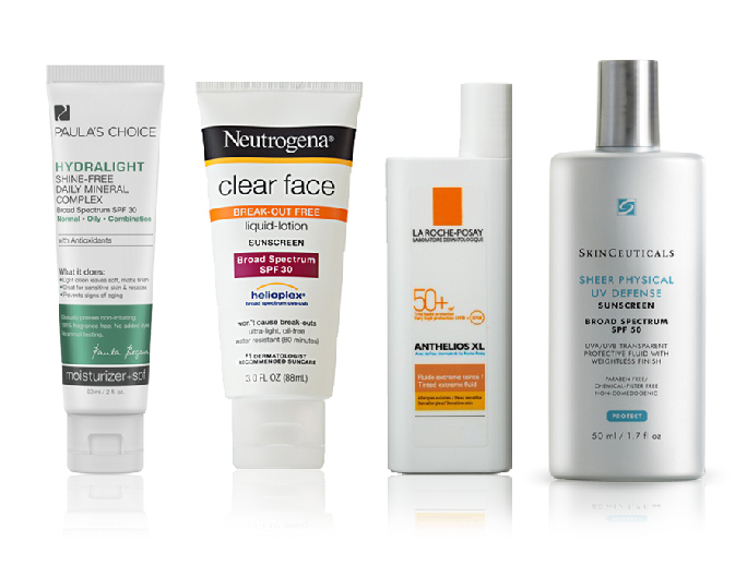 8 Sunscreens that Won't Make You Break Out