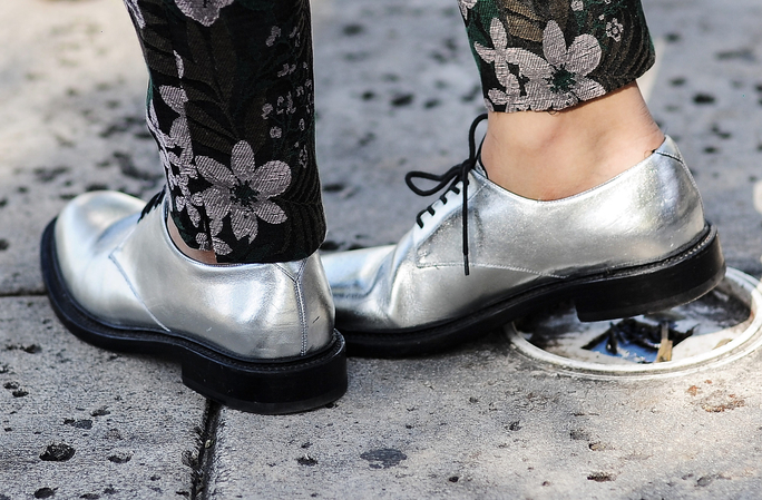 Skip the Rainboots and Step Out in These Water-Resistant Oxfords Instead