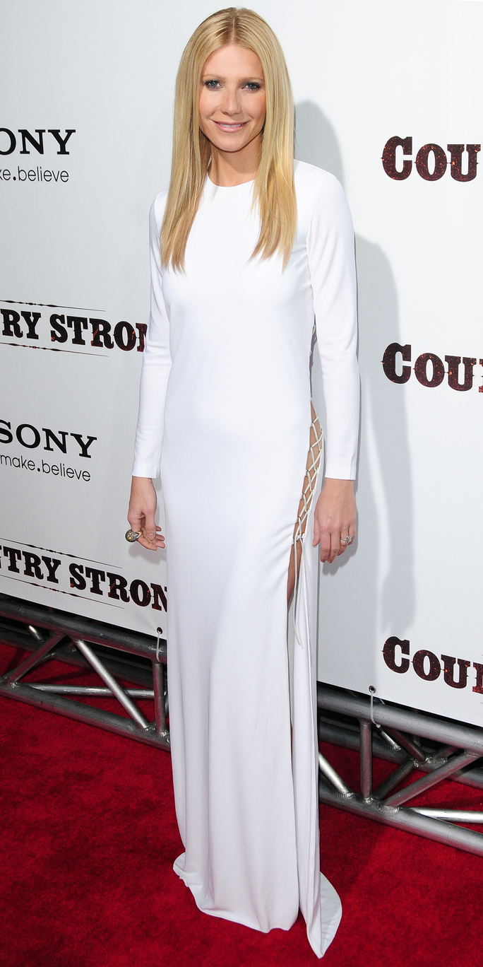 Gwyneth Paltrow's White Dresses