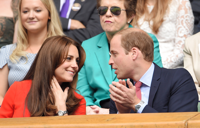 The Duke and Duchess of Cambridge Have the Cutest Date at Wimbeldon