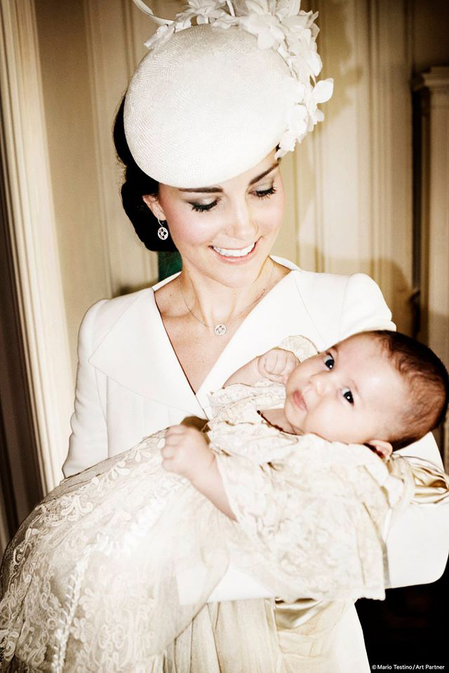 Princess Charlotte Gets Christened