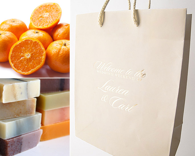 10 Things to Put in Your Wedding Welcome Bags