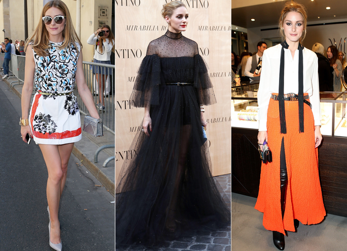 How to Wear a Belt Like Olivia Palermo
