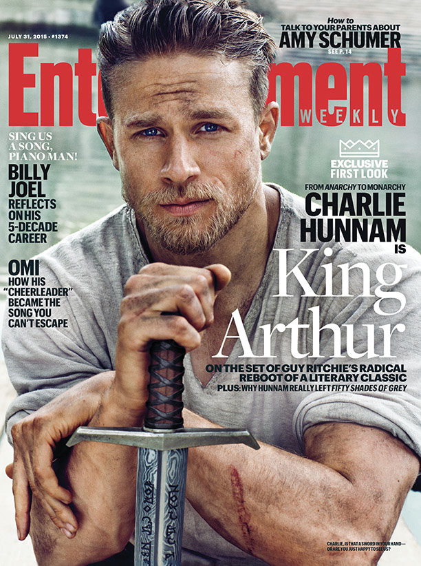 Charlie Hunnam Is Unbelievably Sexy on the New Cover of <em>Entertainment Weekly</em>