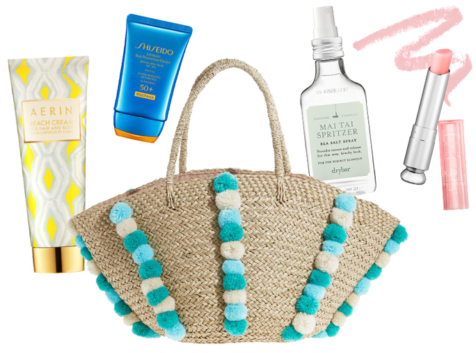 Beauty Addict Beach Bag