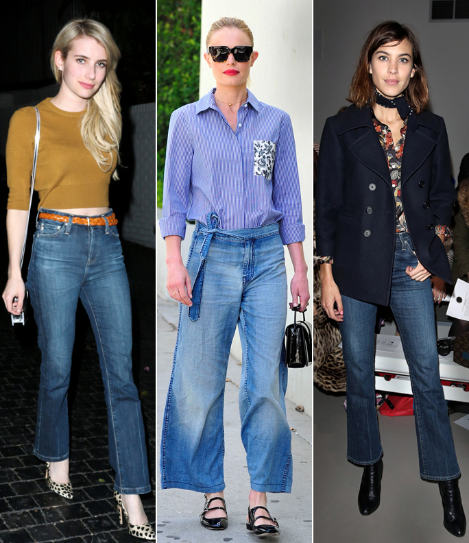 Cropped Flares and Flared Pants to Buy for Fall | InStyle.com