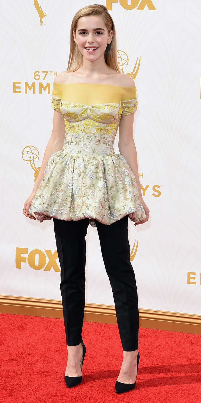 67th Annual Primetime Emmy Awards - Kiernan Shipka