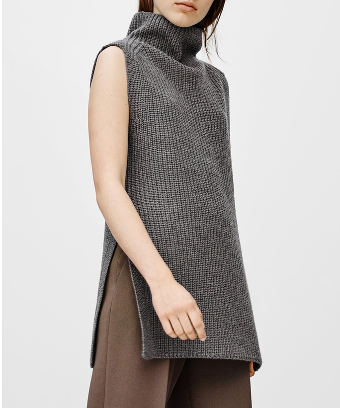 The 10 Best Sleeveless Turtleneck Knits to Wear This Fall