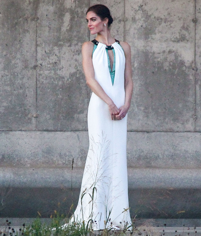 Hilary Rhoda Tie The Knot in The Hamptons
