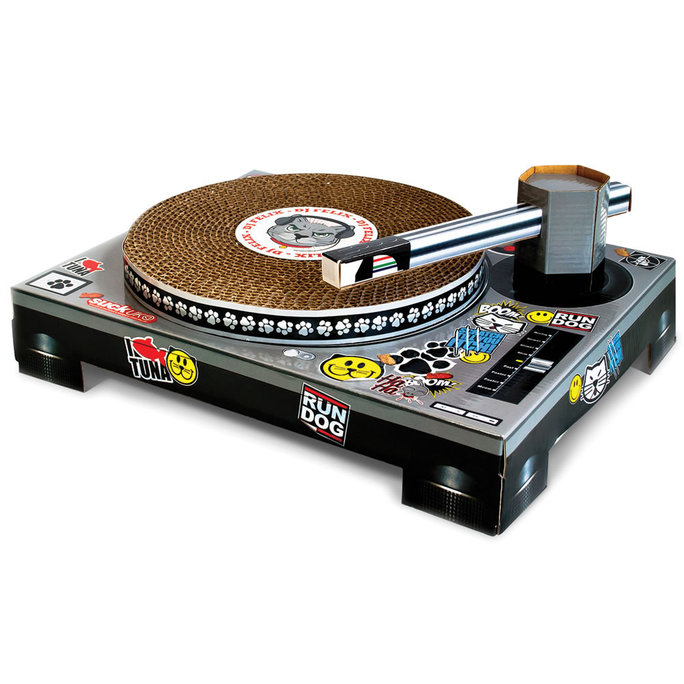 Hammacher Schlemmer Turntable Toy Scratch Pad