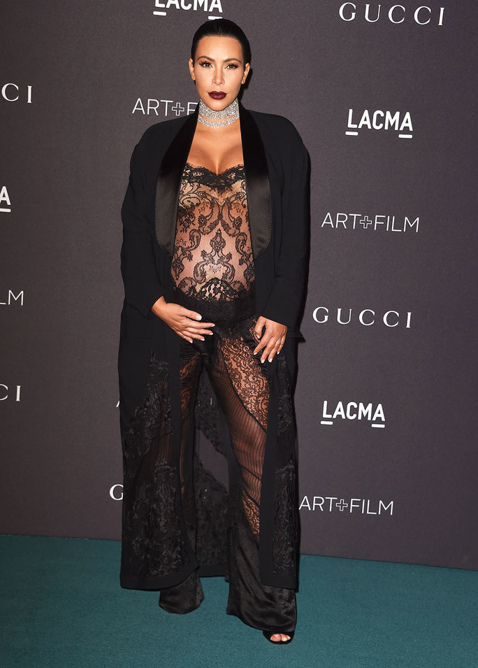 Kim Kardashian\'s Most Memorable Maternity Style Moments | InStyle.com