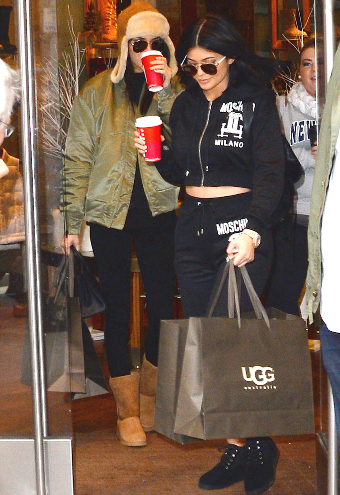 Kendall and Kylie Jenner Participate in the Ultimate It-Girl Rite of Passage