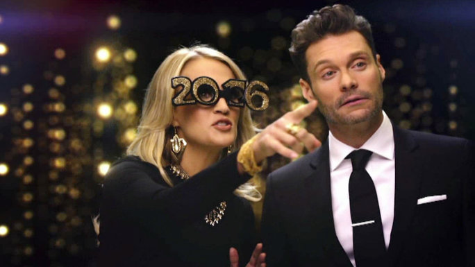 Carrie Underwood and Ryan Seacrest