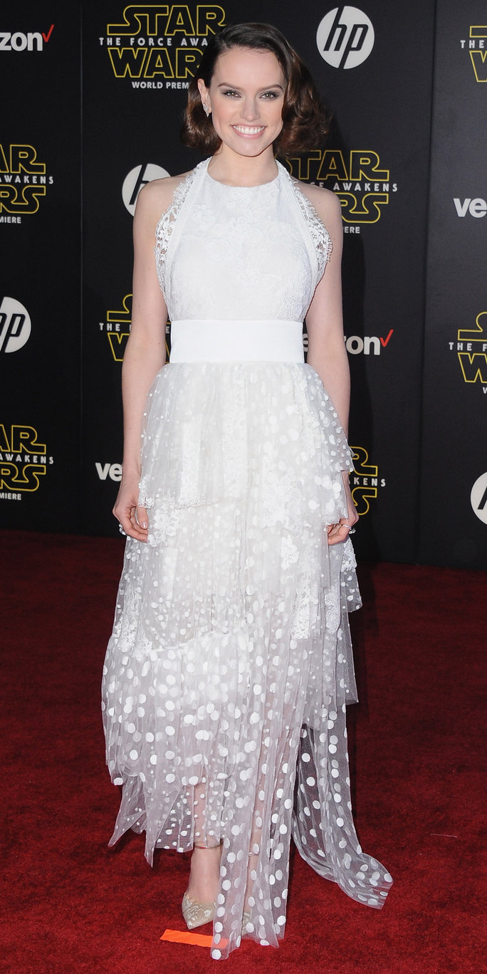 See 10 of Daisy Ridley's Head-Turning Looks While Promoting <em>Star Wars: The Force Awakens</em>