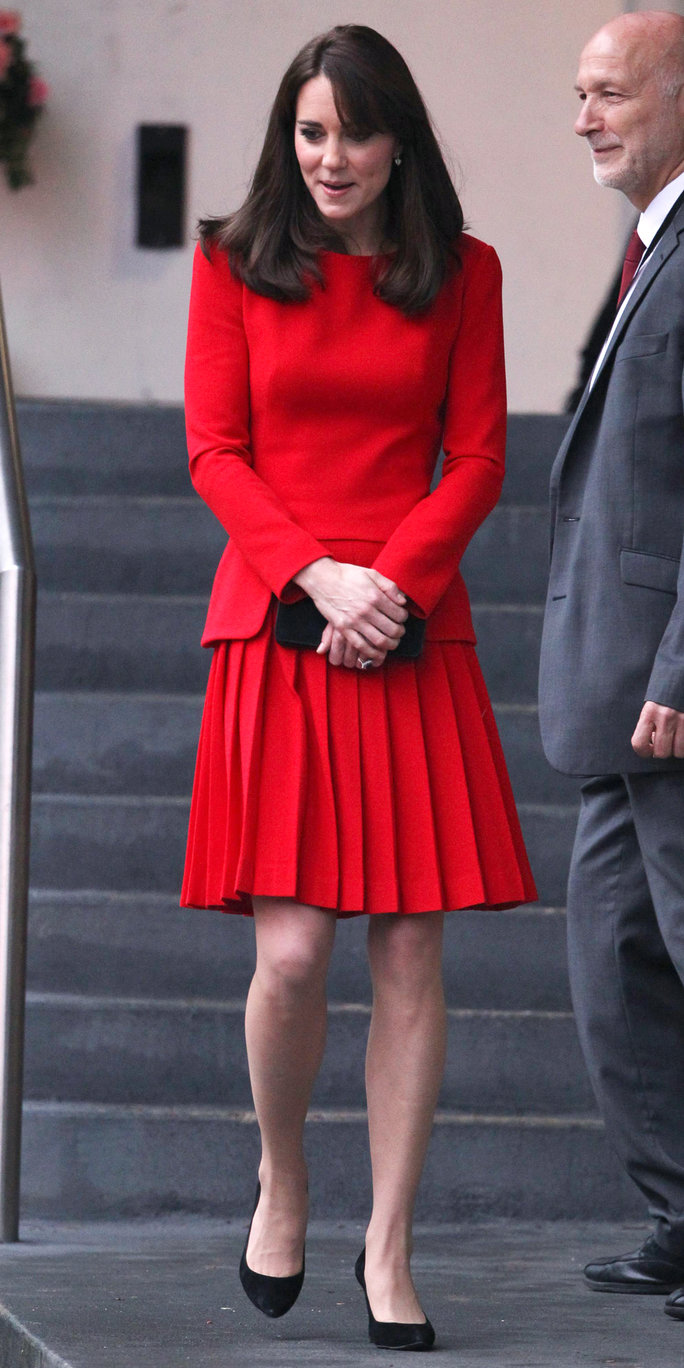 Catherine Duchess of Cambridge The Duchess of Cambridge visits The Anna Freud Centre, London, Britain - 15 Dec 2015