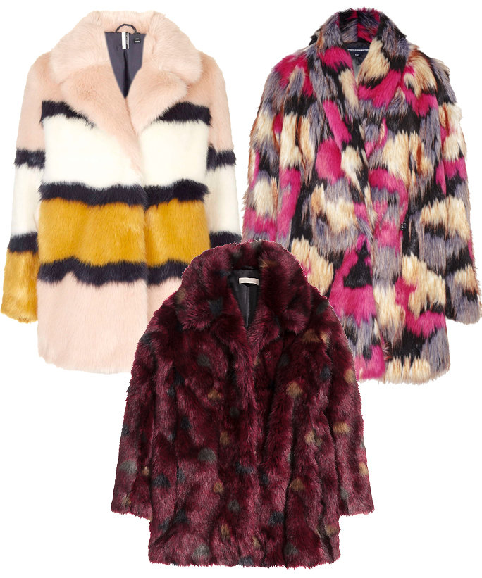 8 Colorful Faux Fur Coats to Brighten Up Your Winter Outlook