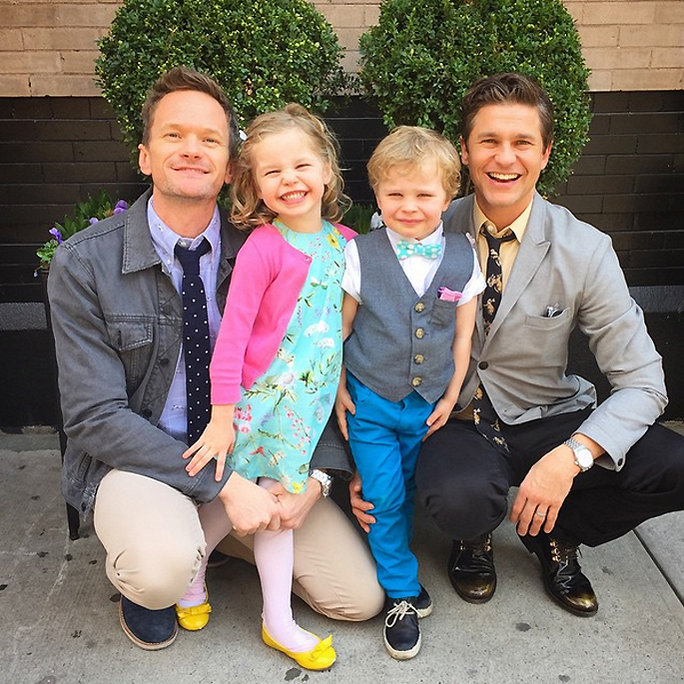 Watch Neil Patrick Harris's Adorable Twins Get Excited for Christmas