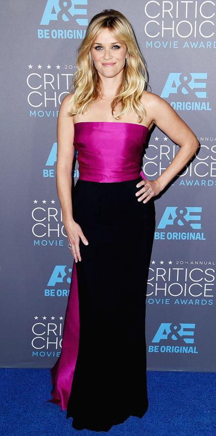 Critics Choice Awards: Reese Witherspoon in Lanvin