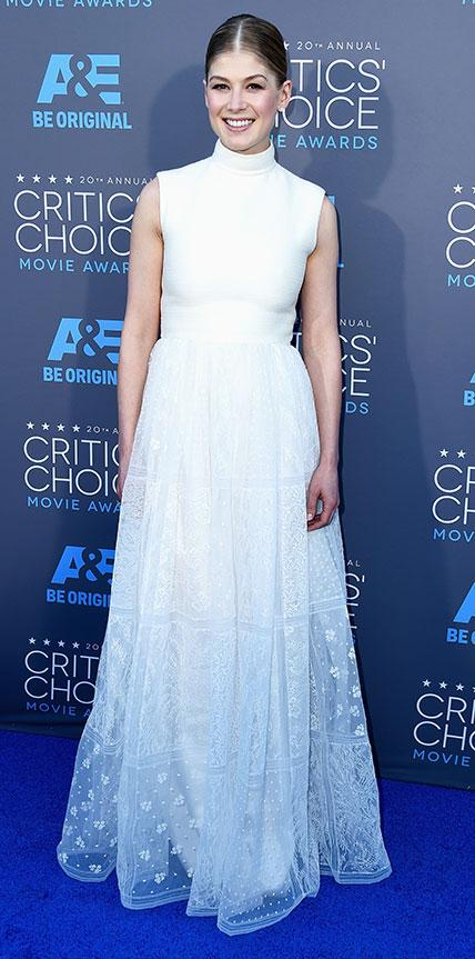 Rosamund Pike in Valentino Haute Couture