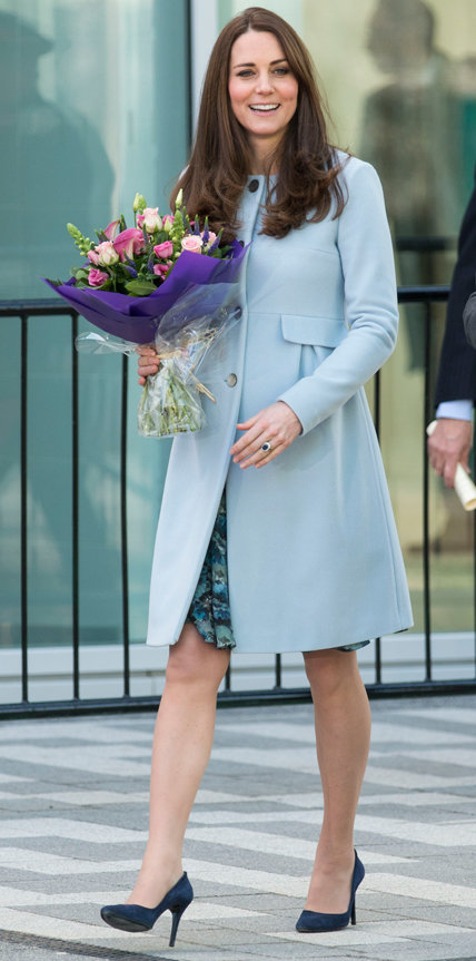 Relive Kate Middleton's Best Maternity Looks to Prepare Yourself for the Sartorial Slayage to Come