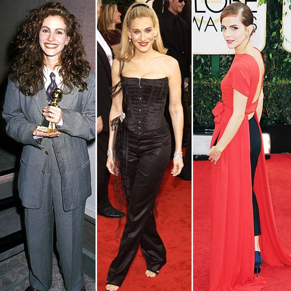 Riskiest Golden Globe Gowns