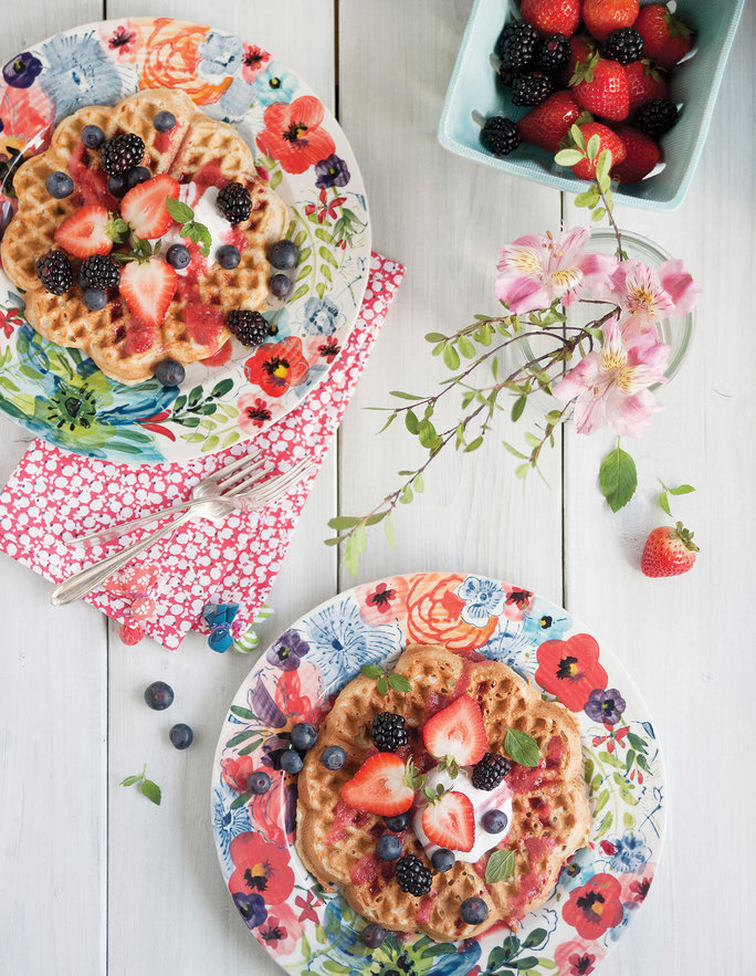 3 Delicious Ways to Dress Up Your Morning Waffle