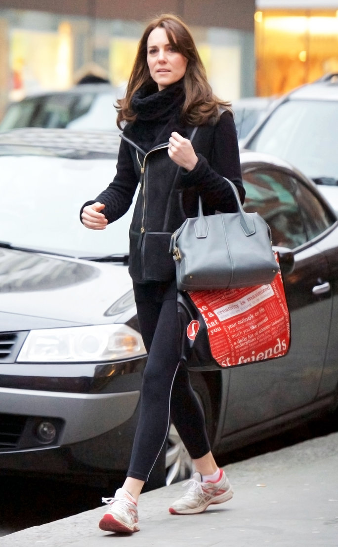 Kate Middleton Loves Athleisure Too! See a Rare Photo of the Duchess in Leggings