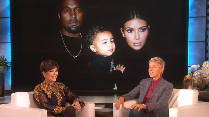 Kris Jenner on Ellen - Video Lead