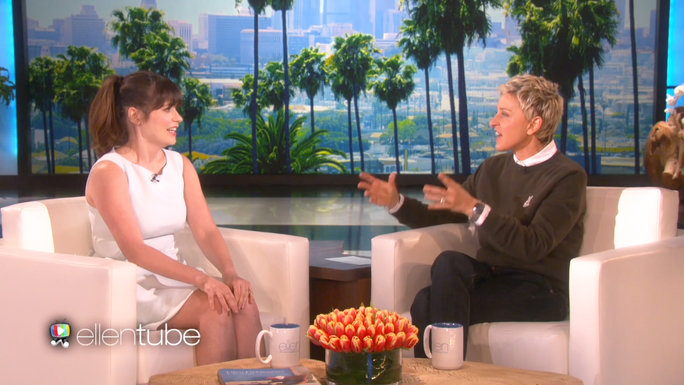 Zooey Deschanel on Ellen Still Lead