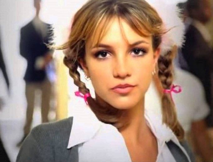 "Britney Spears Channels ""...Baby One More Time"" with Her Latest Hair Style"