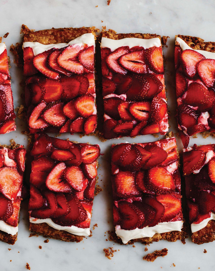 The Simplest Strawberry Tart Recipe
