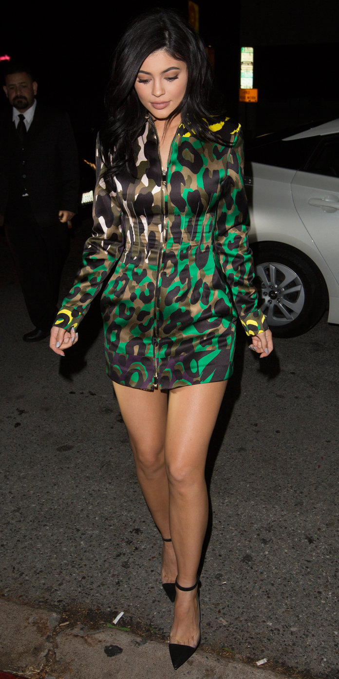 Kylie Jenner arrives at The Nice Guy in Los Angeles