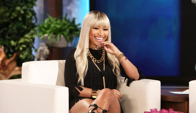 Nicki Minaj on Ellen - Lead 2016