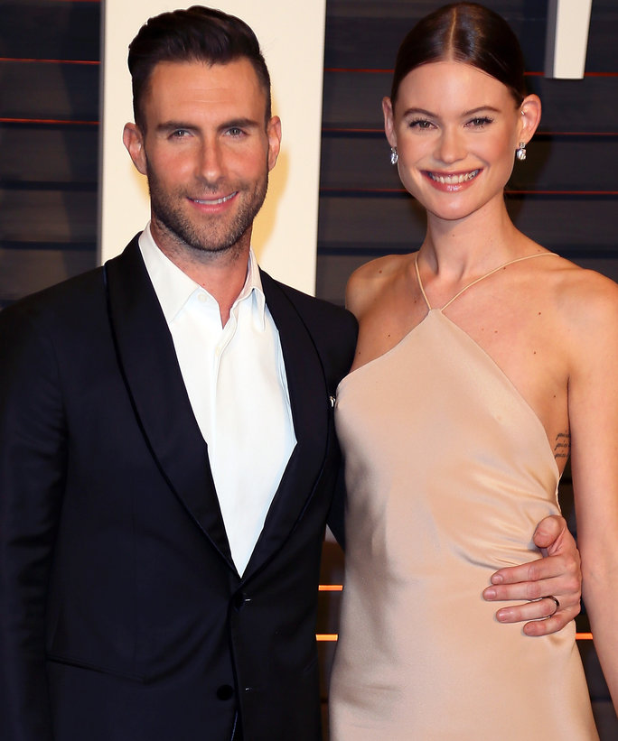 Adam Levine and Behati Prinsloo Are Expecting a Baby Girl