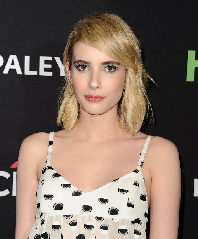 You'll Want to Copy Emma Roberts's Braided Updo ASAP