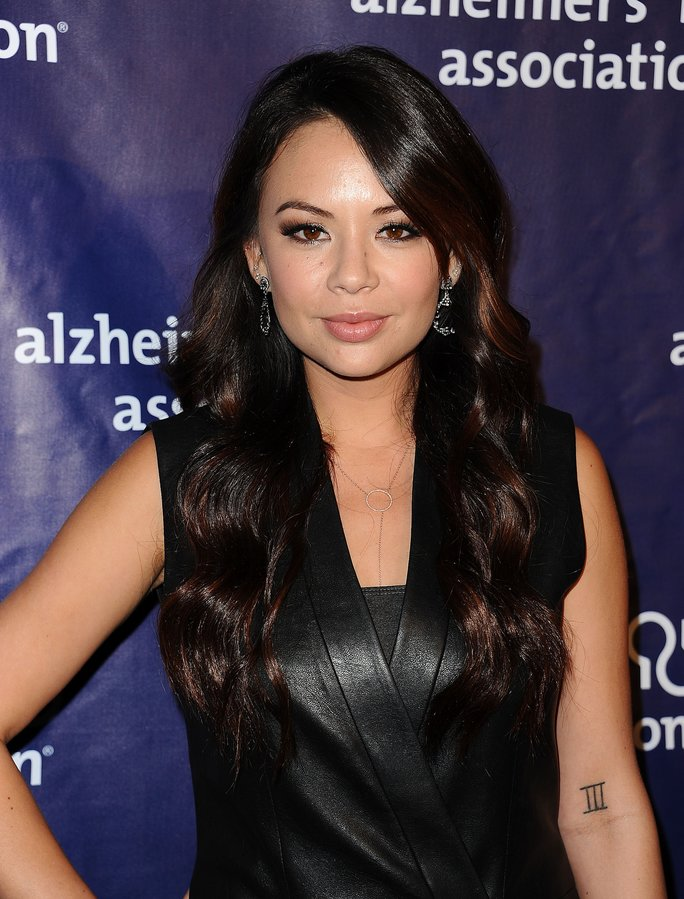 Janel Parrish Chopped Off Her Hair... Again
