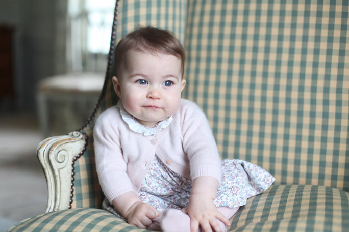 It's Princess Charlotte's First Birthday! See the Little Royal's Cutest Moments